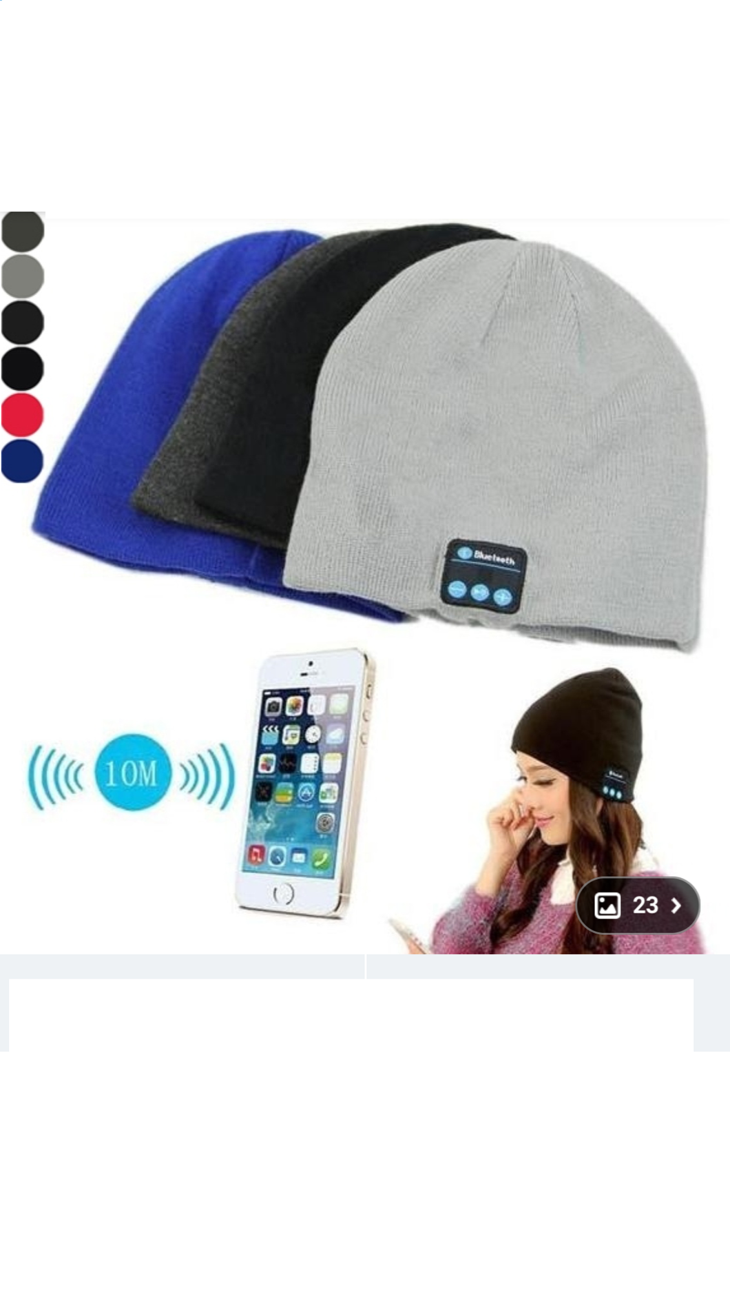 Bluetooth Music Phone Hat