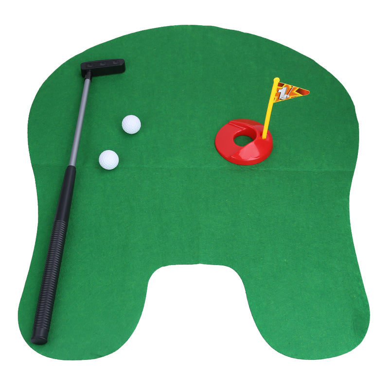 Putting Mat Golf Game for Bathroom