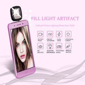 Aroelio LED flashlight for selfie