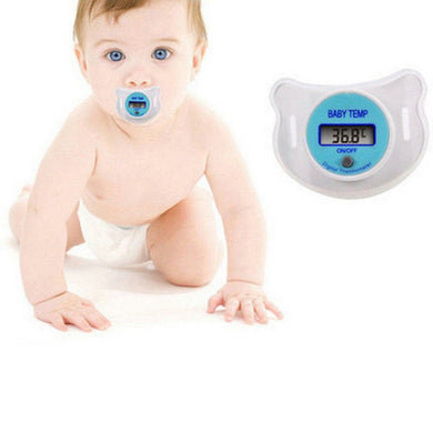Infant Pacifier Thermometer