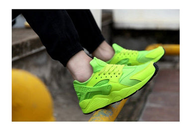 men's sports sneakers basketball shoes men's skateboarding shoes casual sneakers running shoes Green