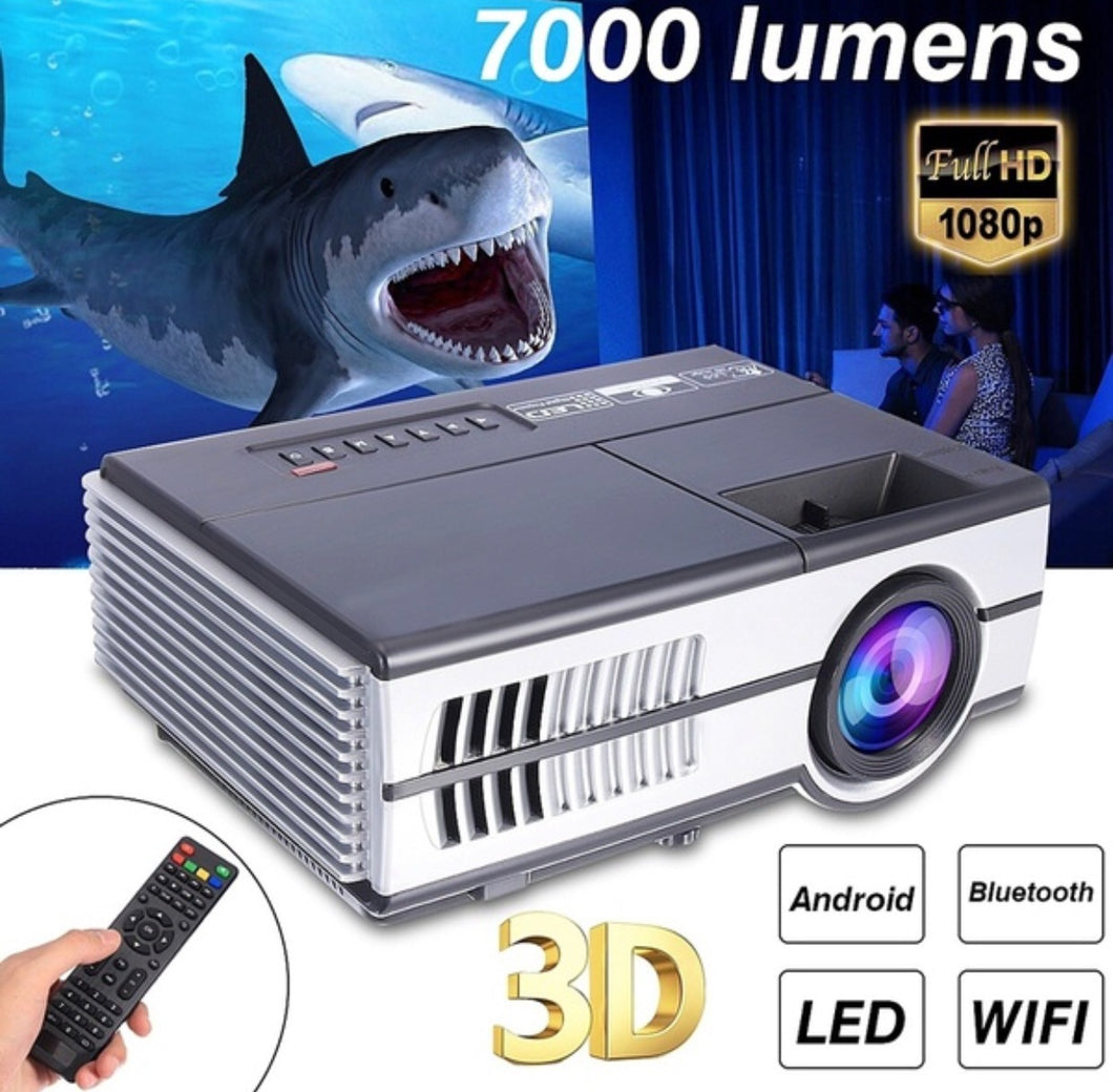 Android 3D Mini Portable Led HD Multimedia Projector