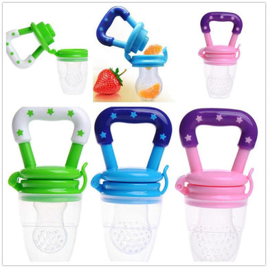 Hot sale Baby Food Feeder Baby Fruit Feeder Teething Toy Teether nipple