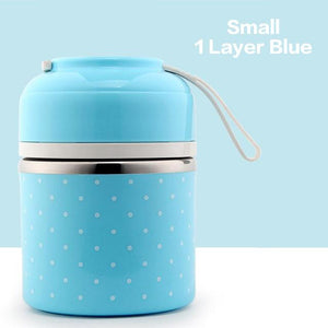 Leak-Proof Stainless Steel Thermal Lunch Boxes
