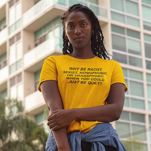 Human Rights Cotton T-shirt For Men and Women