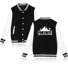 Fortnite jacket New Autumn Men's Jackets Thin Solid Fashion Coats Male Casual Slim Stand Collar Bomber Jacket Men Fortnite