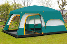Camel Ultralarge double layer waterproof camping tent