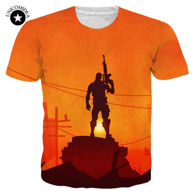 New Punk Male T-shirts Fortnite 3d Print Mens T Shirts Fashion Custom Graphic Tees Summer Women Man Tshirt Dropshipping