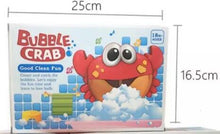 New Arrival Bubble Crabs Baby Bath Toy Funny Bath Bubble Maker Pool Swimming Bathtub Soap Machine Toys for Children Kids