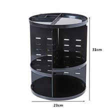 Makeup Organizer 360 Rotating Adjustable Storage Box Large Capacity Rack for Cosmetics Brushes