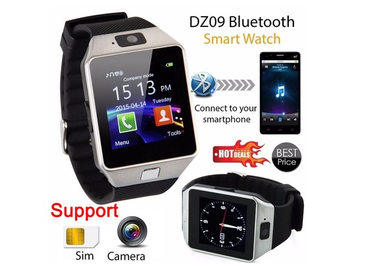 Bluetooth Smart Watch Phone & Camera Support SIM Card For Android/iOS Phone DZ09