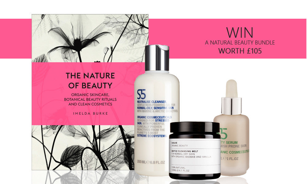 WIN! A SIGNED copy of The Nature of Beauty and Skincare, Worth Over £105