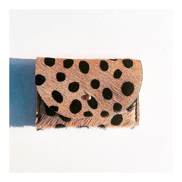 Cheetah, Seam Reap, cowhide, hair on hide, leather clutch, leather purse, cross body, spring bag,San Diego, shopping, leather bag, cowhide bag, handmade, made in usa, fashion, boho, spring, luxury