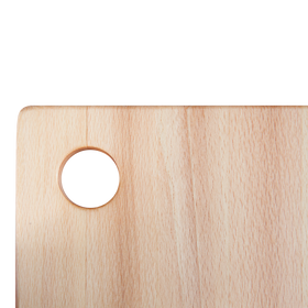 Beech wood rectangular chopping board