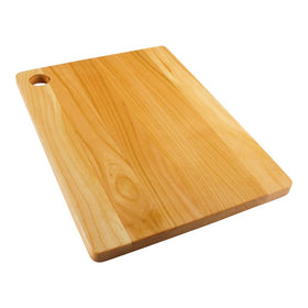 Cherry wood rectangular chopping board