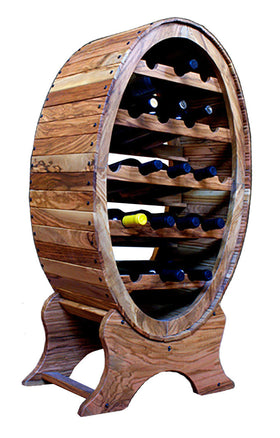 Wine Bottle Rack Olive Wood