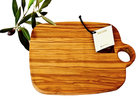 Chopping Board With Hole Olive Wood