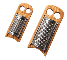 Grater for Cheese Bread And Vegetable Olive Wood