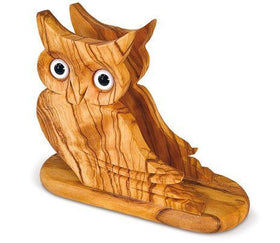 Napkin Holder Olive Wood