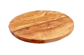 Round Chopping Board Olive Wood
