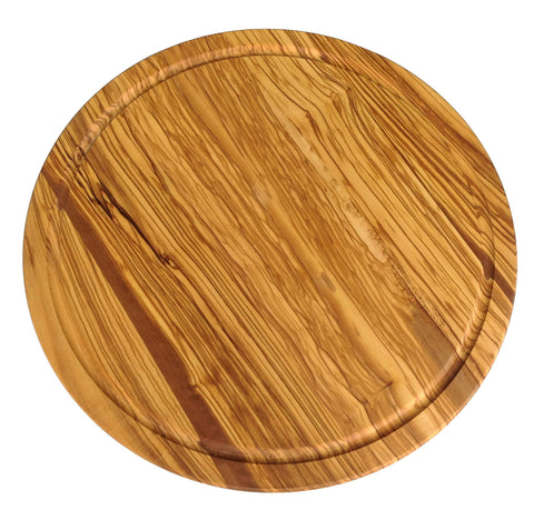 Revolving Chopping Board Olive Wood