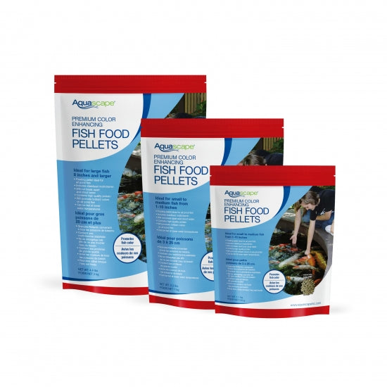 Colour Enhancing Fish Food Pellets 1kg
