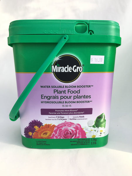 Miracle Grow Bloom Booster 15-30-15 1.5k
