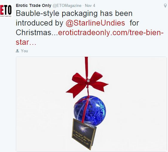 Bauble-style Packaging by StarlineLingerie