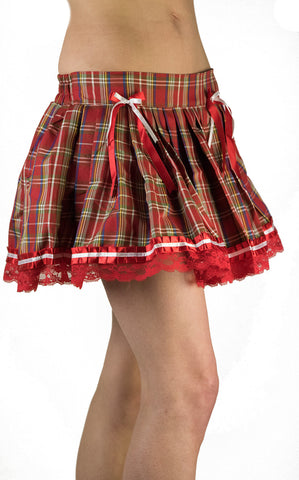 Tartan Checkered Skirt