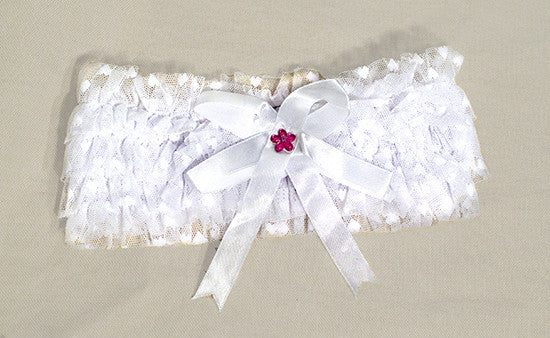 Frills Wedding Garter