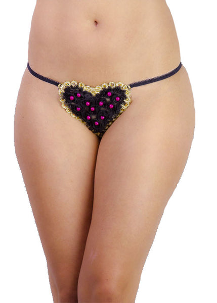 Lovely Heart Thong