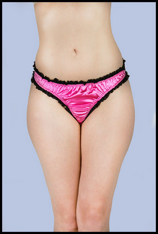 Kitten Back Tie Knicker