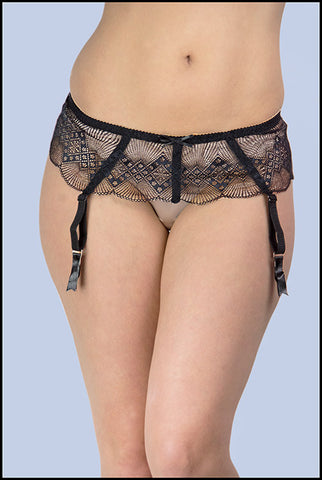 Anelia Lace Suspender Belt