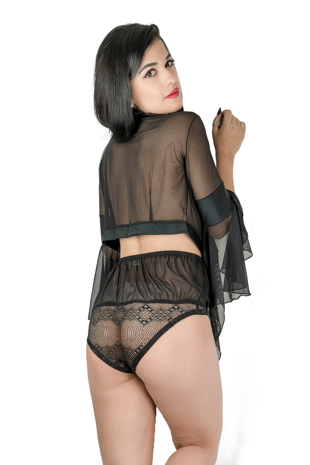 Black Mamba Top and Knicker Set No.1