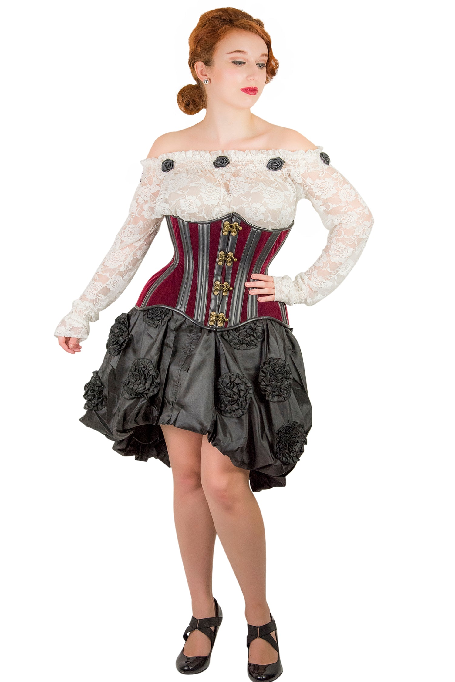 Clearance - Old Rose Underbust Corset