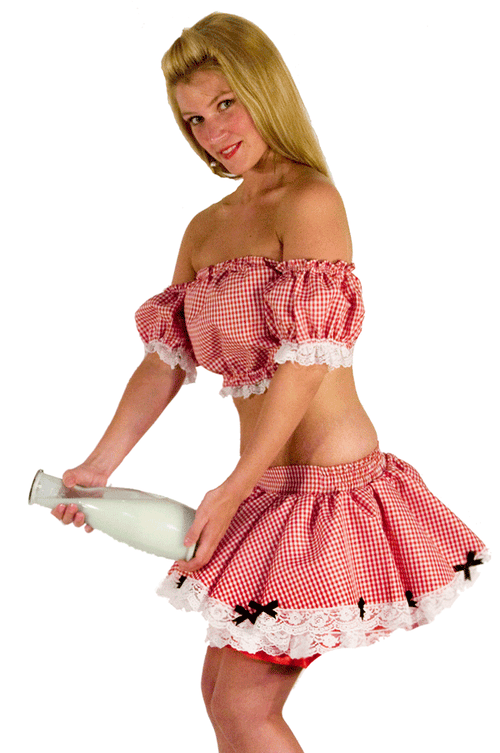 Milk Maid Costume