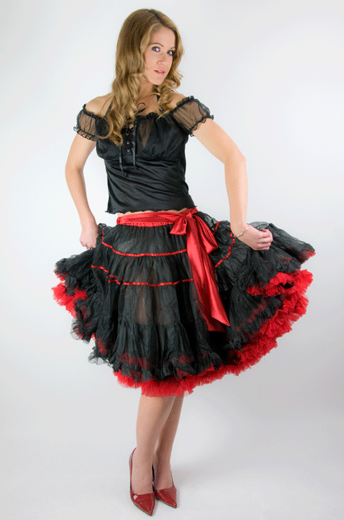 "Petticoat  22"" inches length"