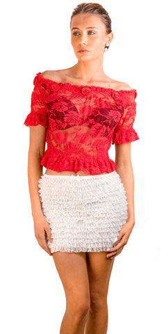 Frilly Frothy Skirt