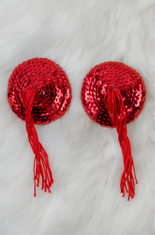 Round Sequin Nipple Pasties