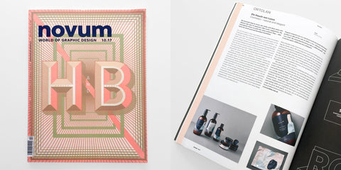 novum magazine october ortolan design