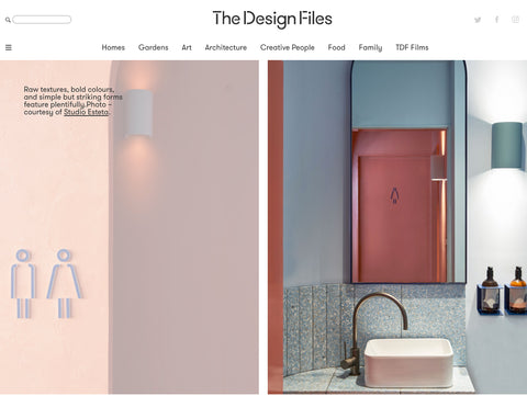 the design files fonda mexican bondi ena products
