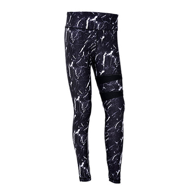 Legging - Black Marble