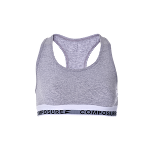 Modern Bralette - Heather Grey