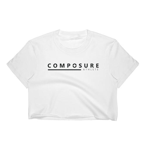 Composure Athlete Crop - White