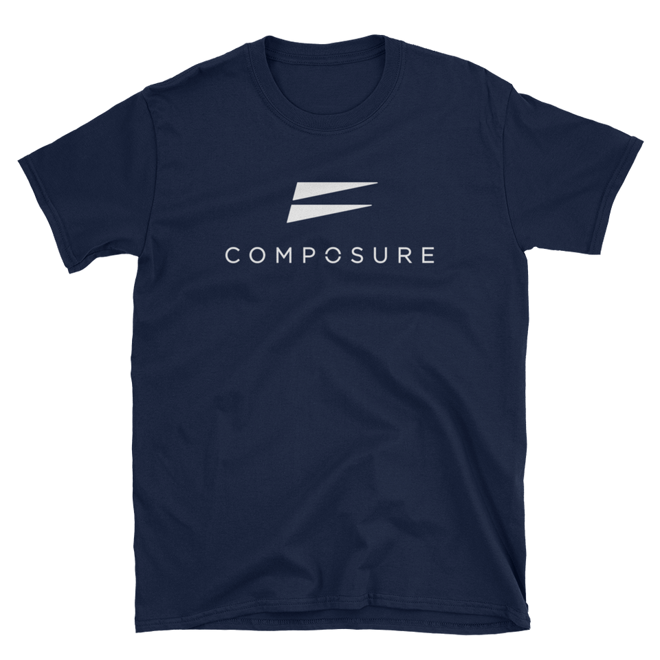 Composure Quick Dry T-Shirt - Navy