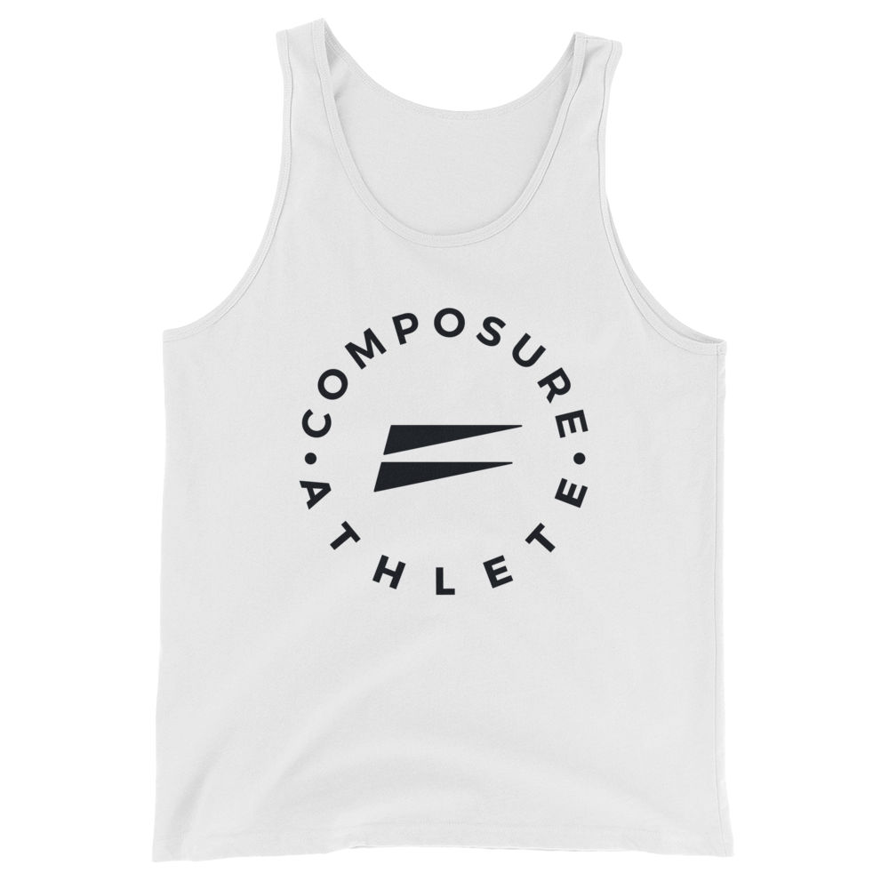 Composure Athlete Tank - White