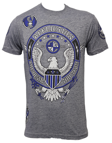 Affliction ATT American Top Team Gym Tee Grey