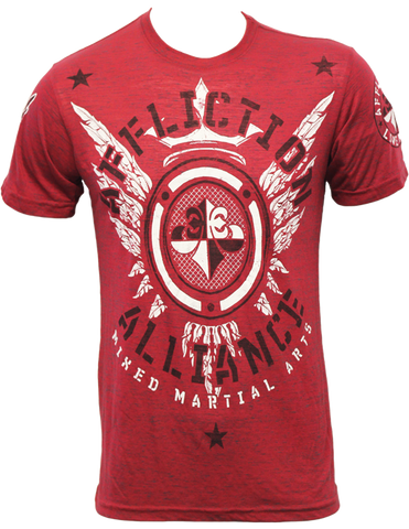Affliction Alliance Gym Tee Red