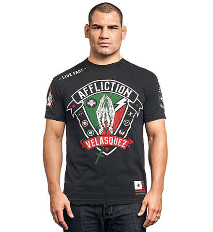 Affliction Cain Velasquez Devotion Tee short sleeve Black