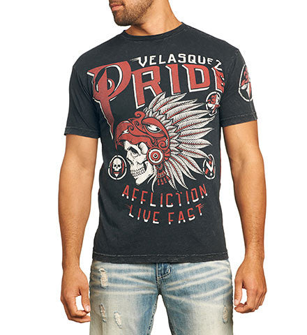 Affliction Cain Velasquez Pride Short Sleeve Tee